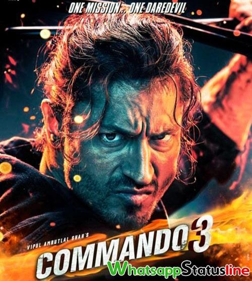 Aakhiyaan Milavanga Commando 3 Arijit Singh Status Video