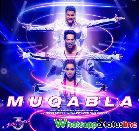 Muqabla Song Street Dancer 3d Whatsapp Status Video Download
