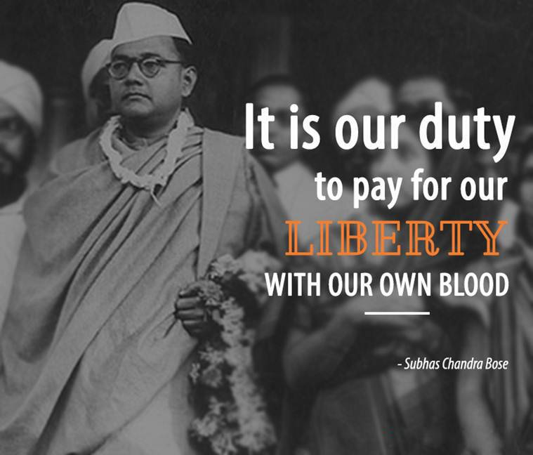 IT is our Duty To Pay For our Libberty With our own Blood