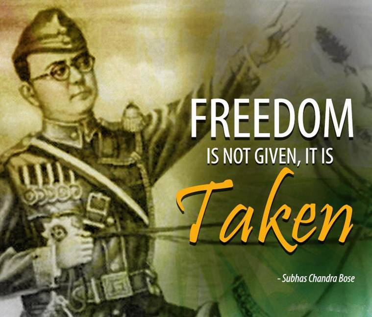 Freedom is Not Given, it is Taken.