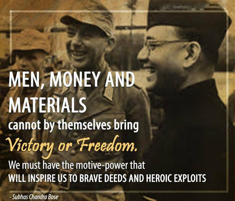 Men, Money And Materials Cannot By Themsselves bring Victory or Freedom, We Must Have The Motive-Power That  WILL INSPIRE US TO BRAVE DEEDS AND HEROIC EXPLOITS