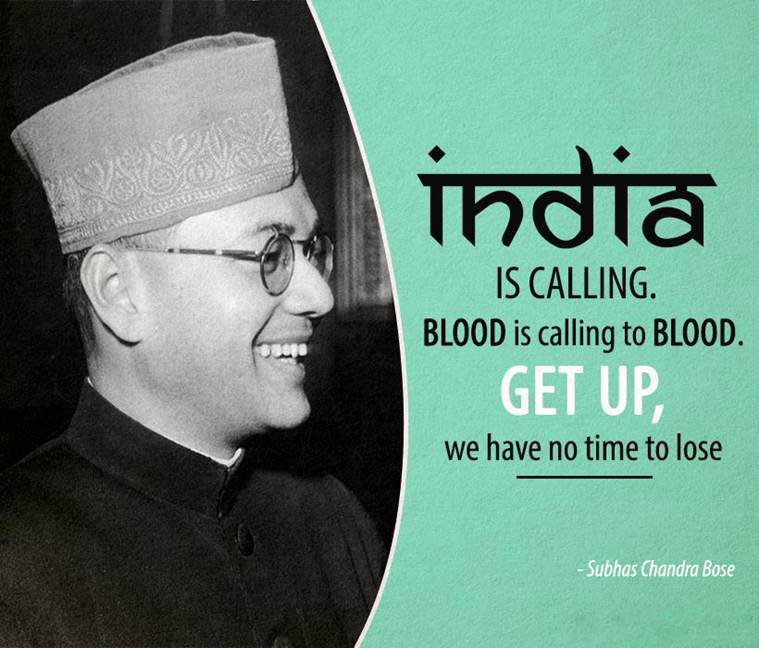 india is Calling, Blood is Calling To Blood. Get Up, We Have No Time To Lose!