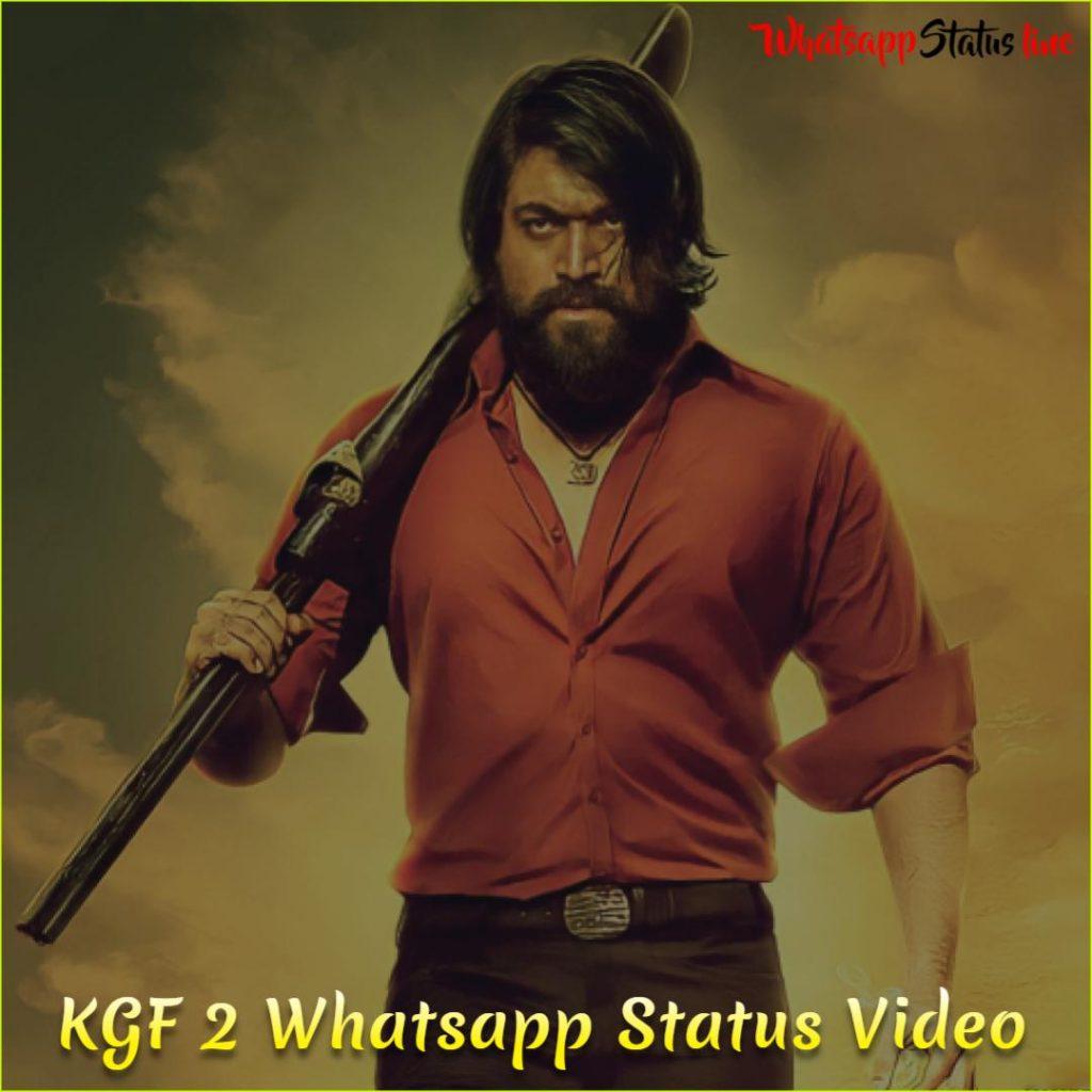 KGF 2 Whatsapp Status Video