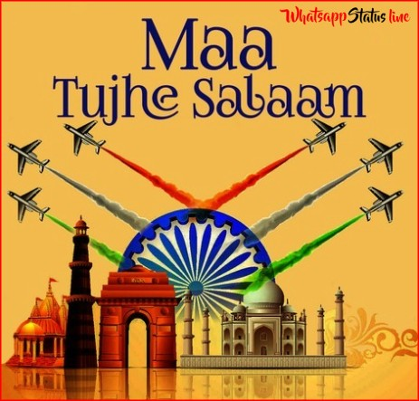 Maa Tujhe Salaam Song Independence Day Status Video