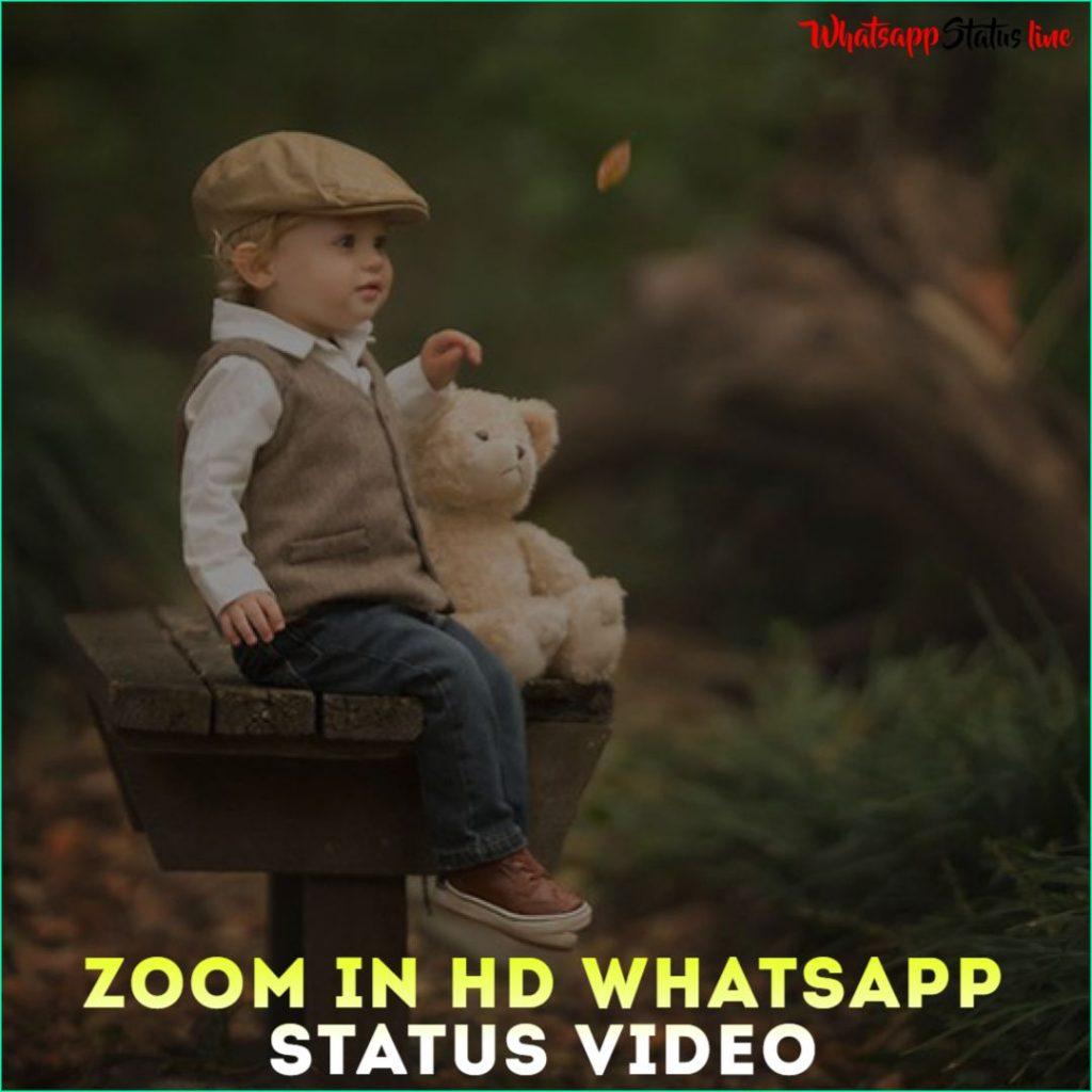 Zoom in HD Whatsapp Status Video