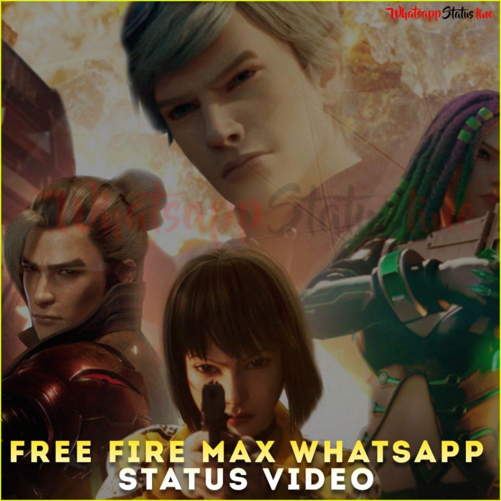 Free Fire Max Whatsapp Status Video