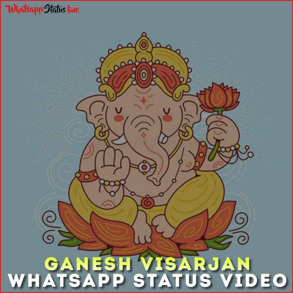 Ganesh Visarjan Whatsapp Status Video