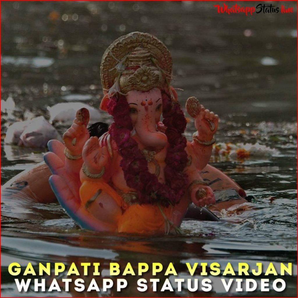Ganpati Bappa Visarjan Whatsapp Status Video