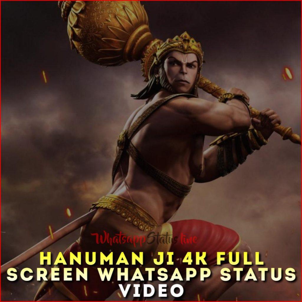 Hanuman Ji 4k Full Screen Whatsapp Status Video