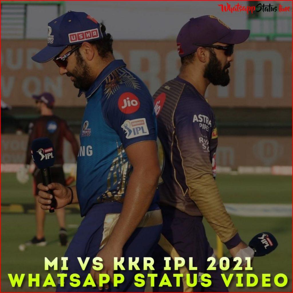 Mi vs Kkr IPL 2021 Whatsapp Status Video