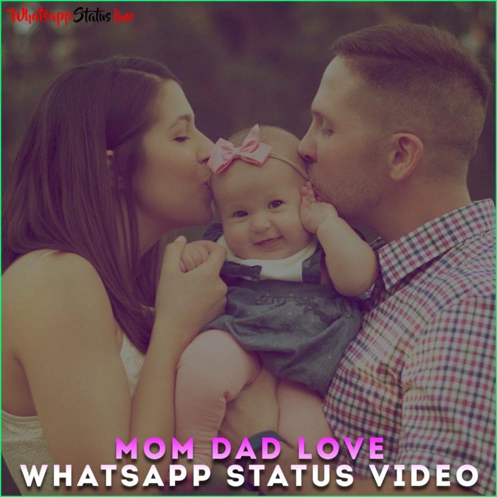 Mom Dad Love Whatsapp Status Video