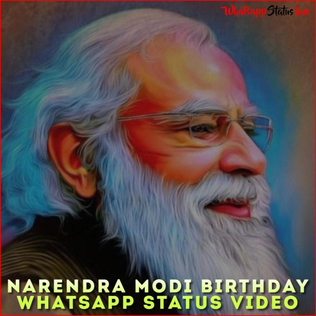 Narendra Modi Birthday Whatsapp Status Video