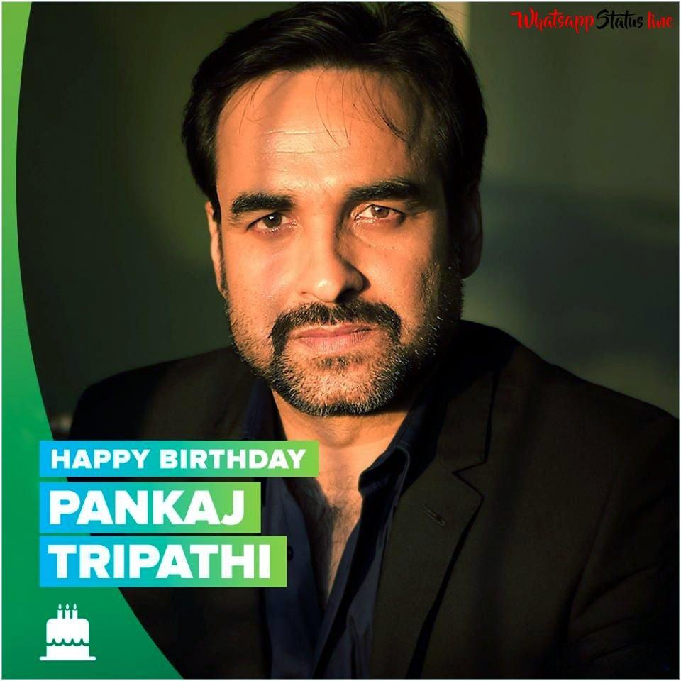 Pankaj Tripathi Birthday Whatsapp Status Video