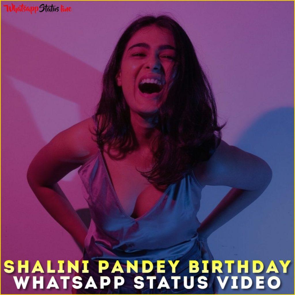 Shalini Pandey Birthday Whatsapp Status Video