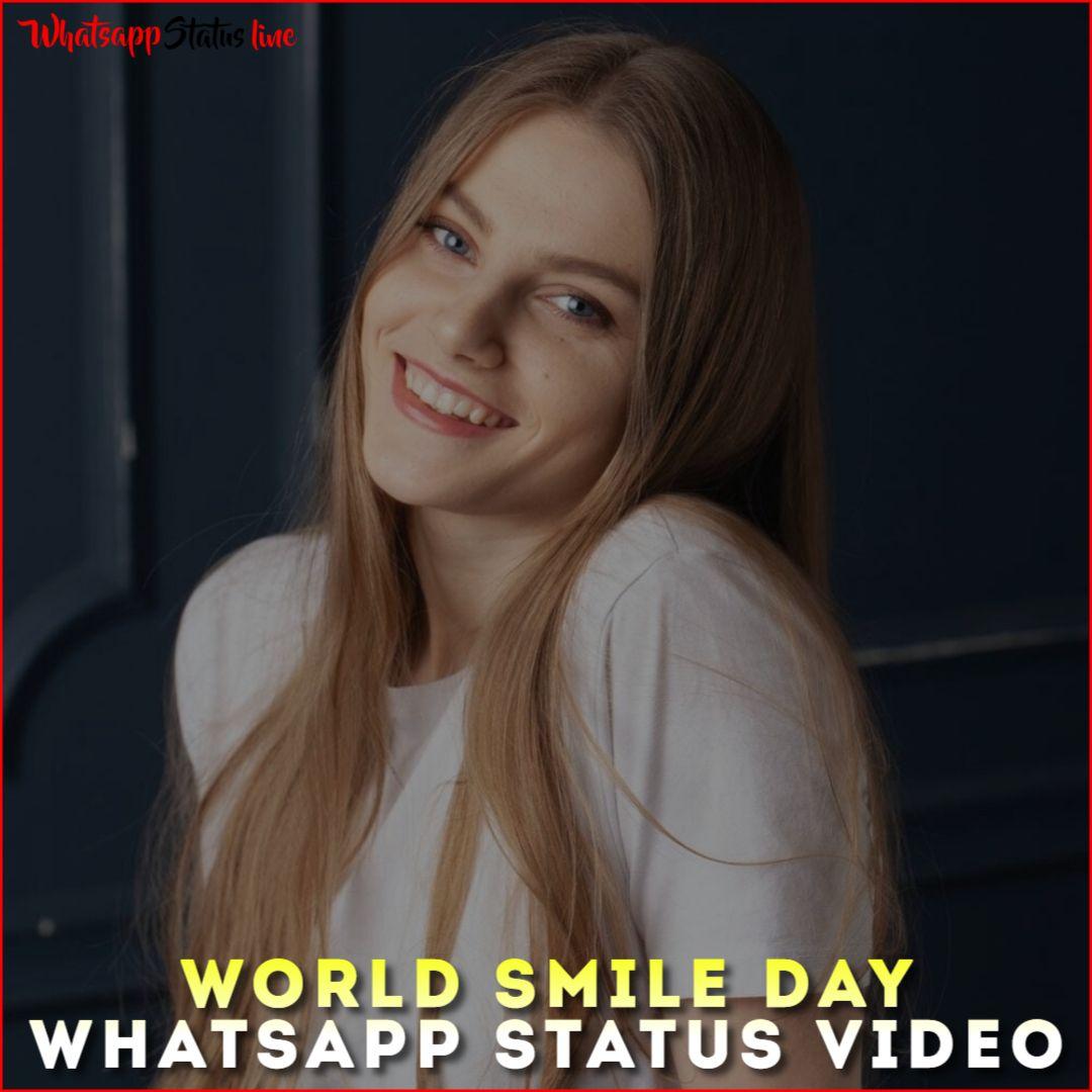 World Smile Day Whatsapp Status Video