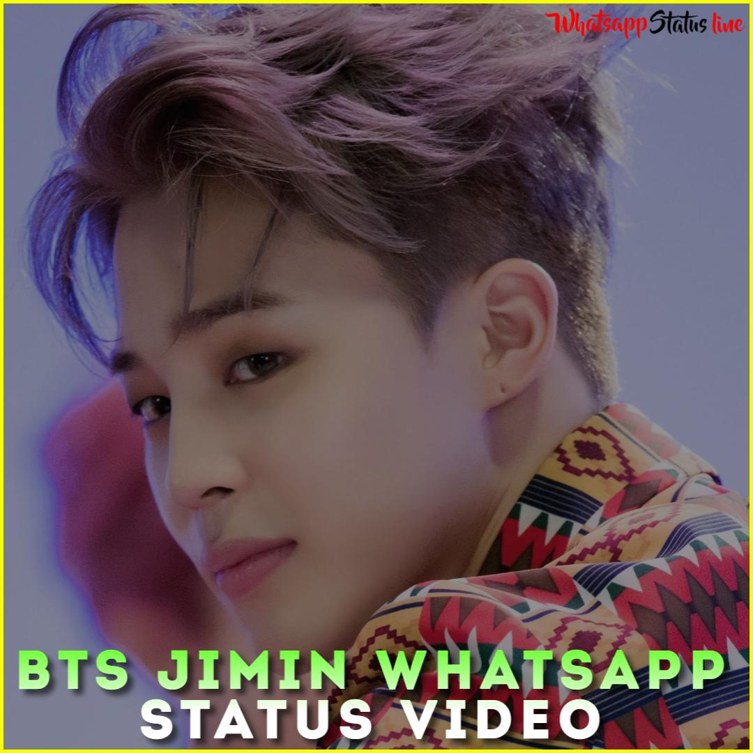BTS Jimin Whatsapp Status Video