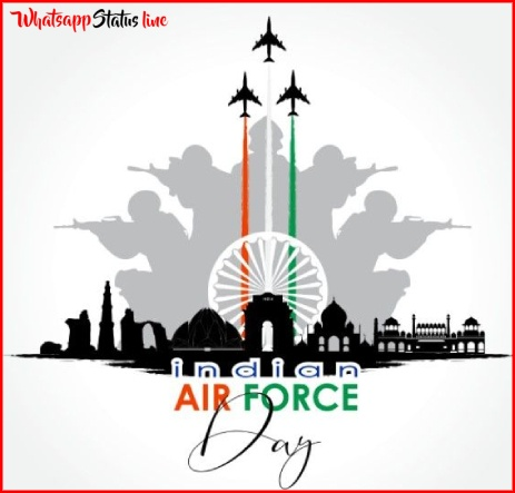 Happy Indian Air Force Day 2021 Whatsapp Status Video