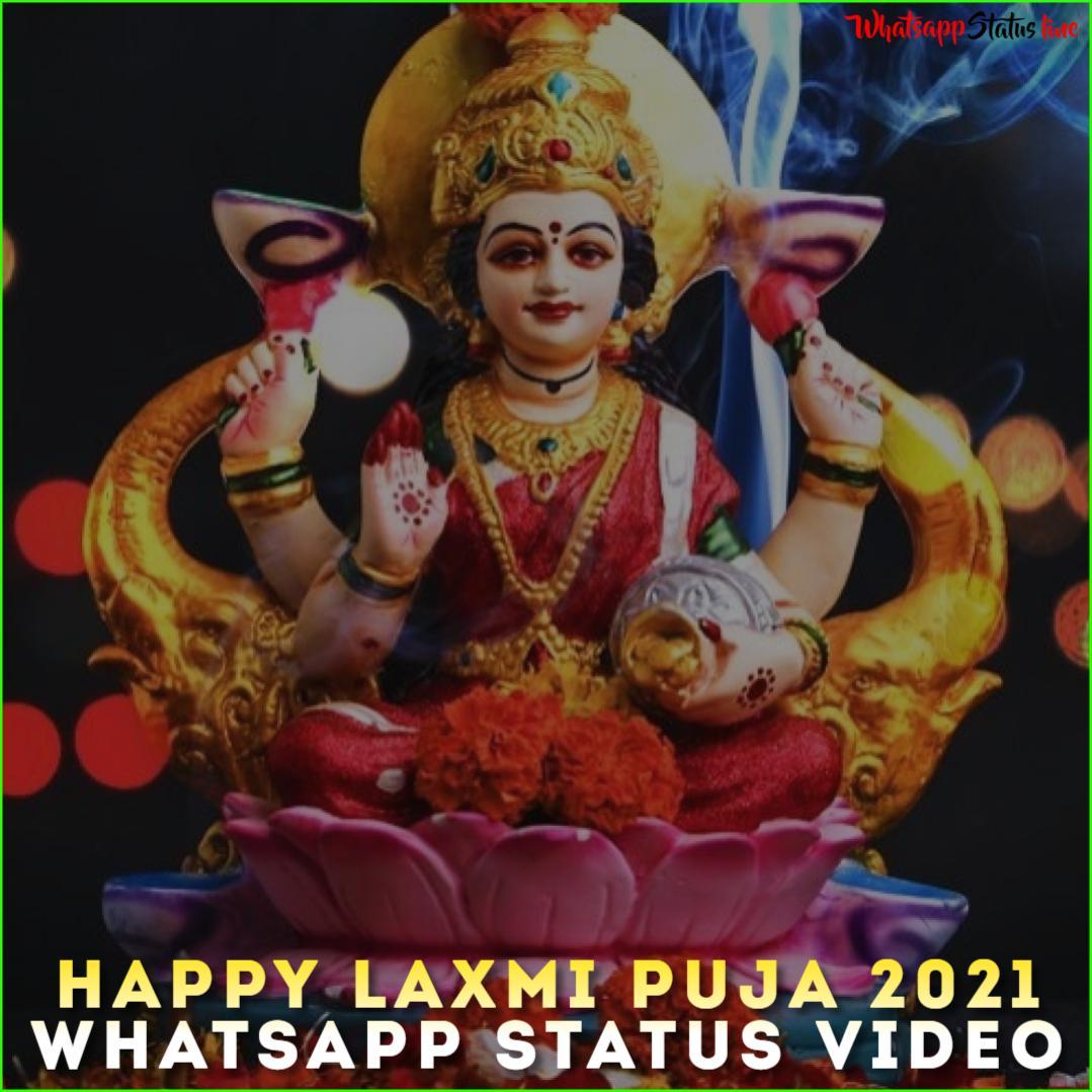 Happy Laxmi Puja 2021 Whatsapp Status Video