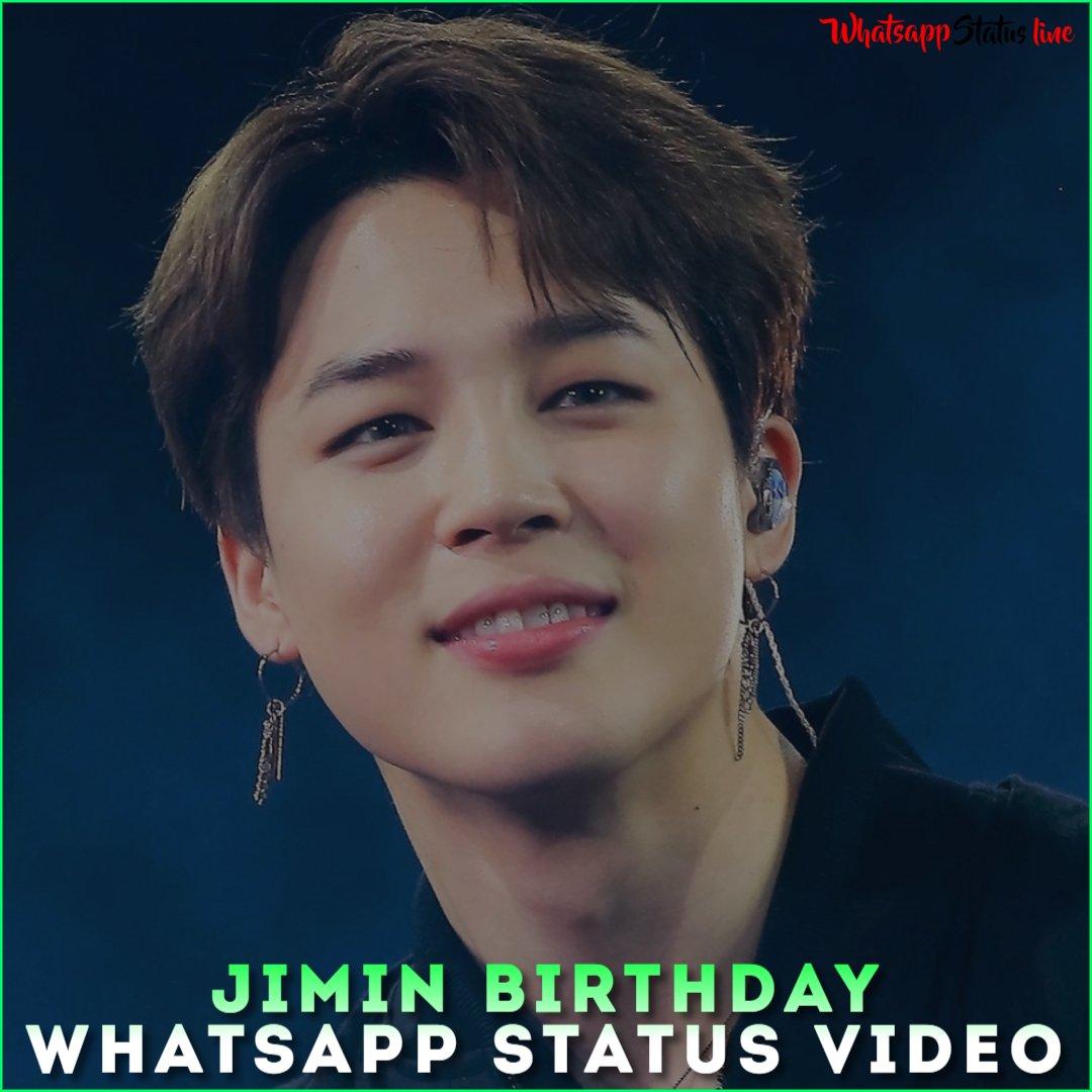 Jimin Birthday Whatsapp Status Video