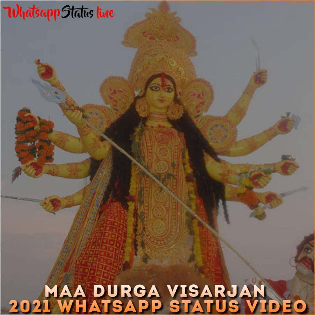 Maa Durga Visarjan 2021 Whatsapp Status Video