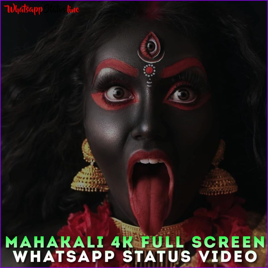 Mahakali 4k Full Screen Whatsapp Status Video