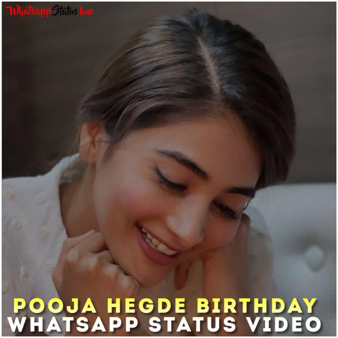Pooja Hegde Birthday Whatsapp Status Video