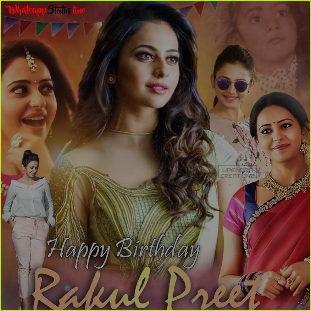 Rakul Preet Singh Birthday Whatsapp Status Video